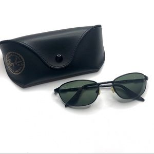 RAY BAN RB3023 Highstreet Metal Wrap Sunglasses